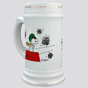 Flying Ace Dodging Bullets Stein