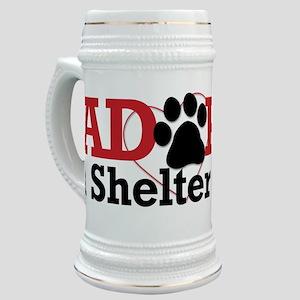 Adopt a Shelter Pet Stein