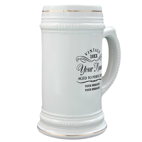 Personalize Funny Birthday Stein