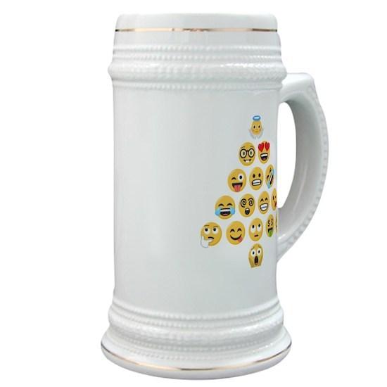 Emoji Christmas Tree emojis Stein