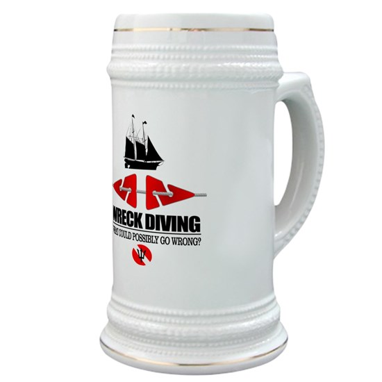 Wreck Diving (Line Markers) Stein
