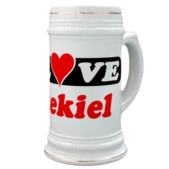 d204b17cdc4f I Love Ezekiel Stein by Paul - CafePress