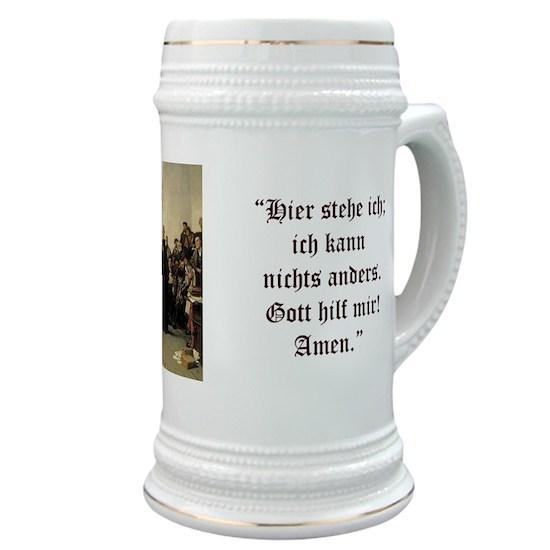 Luther at Worms (German) mug