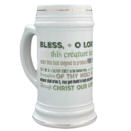 Blessing for Beer green