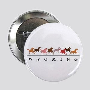 "Wyoming horses 2.25"" Button (10 pack)"