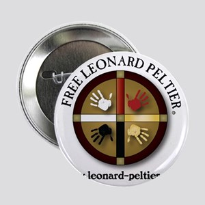 "Free Leonard Peltier 2.25"" Button (10 pack)"