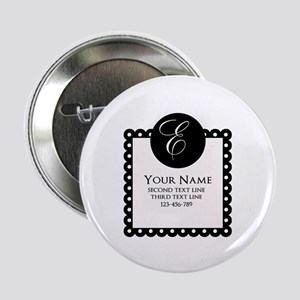 """Personalized Texts 2.25"""" Button (10 pack)"""