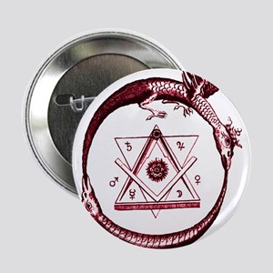 "Alchemical Ouroboros 2.25"" Button (10 pack)"