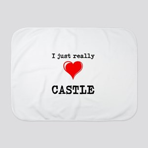 The Love for Castle Baby Blanket