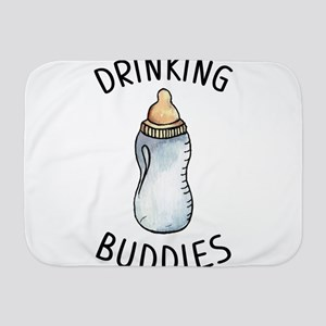 Drinking Buddies Milk Family Matching Baby Blanket