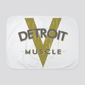 Detroit Muscle Baby Blanket