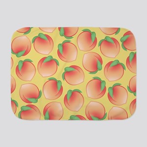 Cute Peach Pattern Baby Blanket
