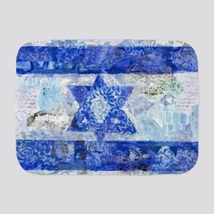 Flag of Israel Baby Blanket