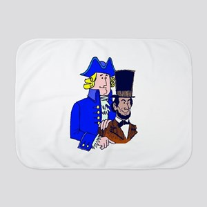 Happy President Day Baby Blanket