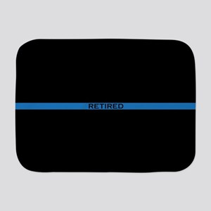 Retired Thin Blue Line Baby Blanket