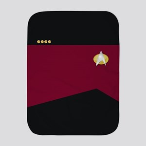 Star Trek: TNG Uniform - Captain Baby Blanket