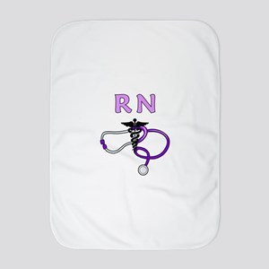 RN Nurse Medical Baby Blanket