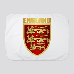 English Royal Arms Baby Blanket