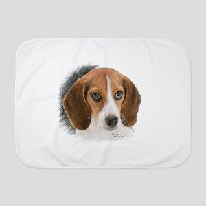 Beagle Close Up Baby Blanket