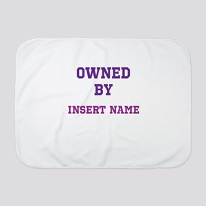 Customized Owned Baby Blanket