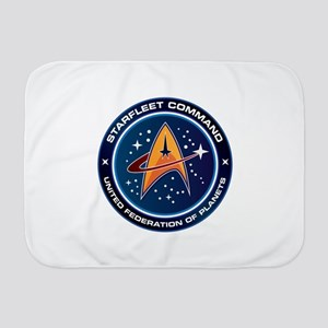 Star Trek Federation Of Planets Baby Blanket