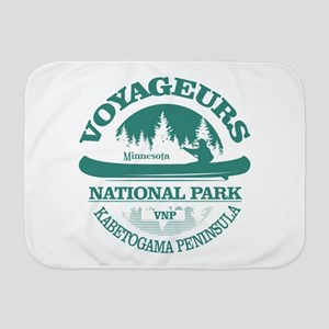 Voyageurs NP (Canoe) Baby Blanket