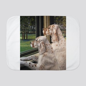 English Setter Puppies Baby Blanket