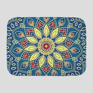 Mandala Flower Baby Blanket