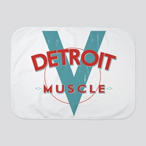 Detroit Muscle Baby Blanket