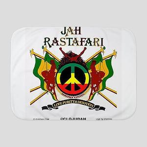 Jah Rastafari Baby Blanket