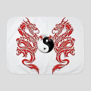 Dragons (W) Baby Blanket