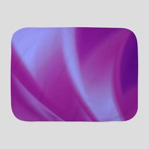 Veils of Purple Fractal Baby Blanket