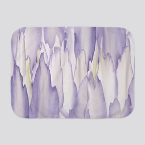 Abstract Orchid Painting Baby Blanket