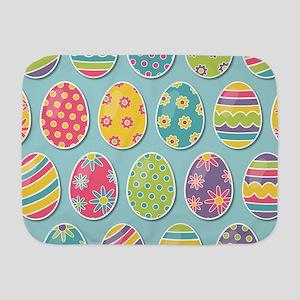 Easter Eggs Baby Blanket