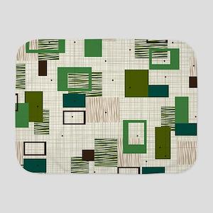 Makanahele Mid Century Modern Baby Blanket