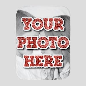 CUSTOM Your Photo Here Baby Blanket