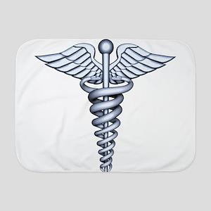 Medical Symbol Baby Blanket