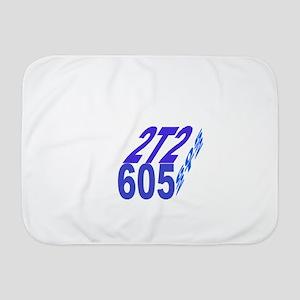 2tt2/605 cube Baby Blanket