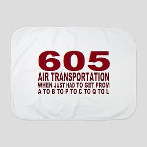 605 air trans Baby Blanket