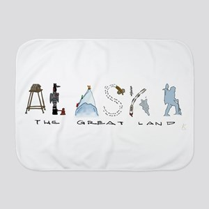 The Great Land - Color Baby Blanket