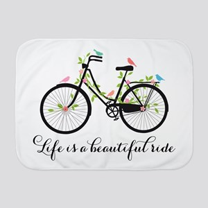 Life is a beautiful ride Baby Blanket