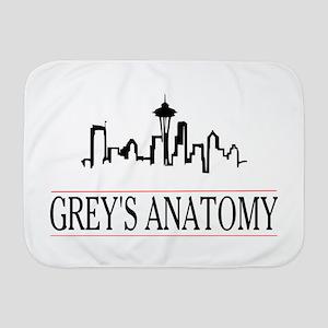Grey's anatomy-skyline Baby Blanket