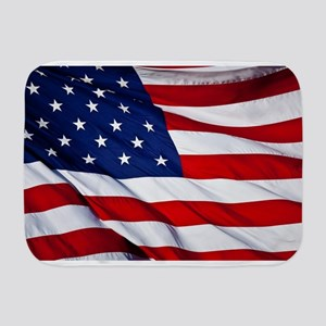 United States Flag in All Her Glory Baby Blanket
