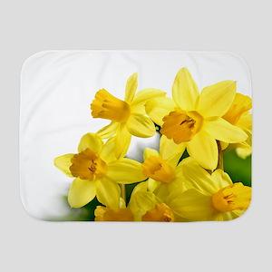 Daffodils Style Baby Blanket
