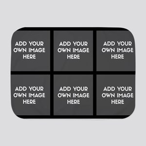 Add Your Own Image Collage Baby Blanket