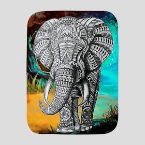 African Elephant Baby Blanket