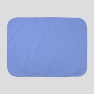 Periwinkle Blue Solid Color Baby Blanket