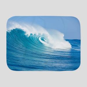 Blue Wave Baby Blanket
