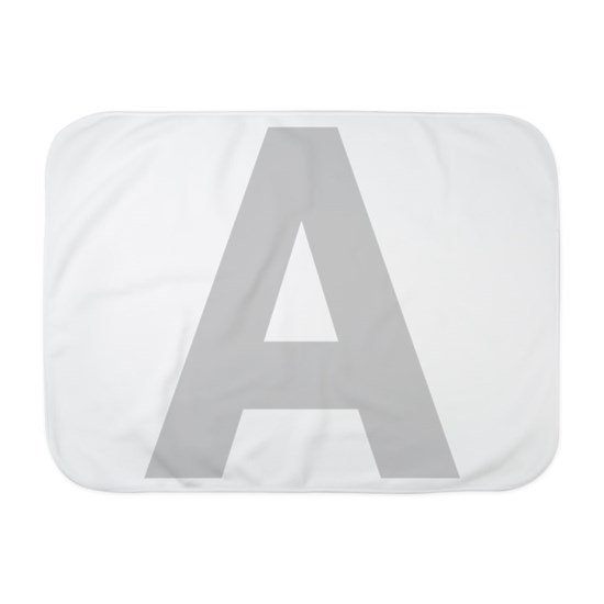 Letter A Light Gray