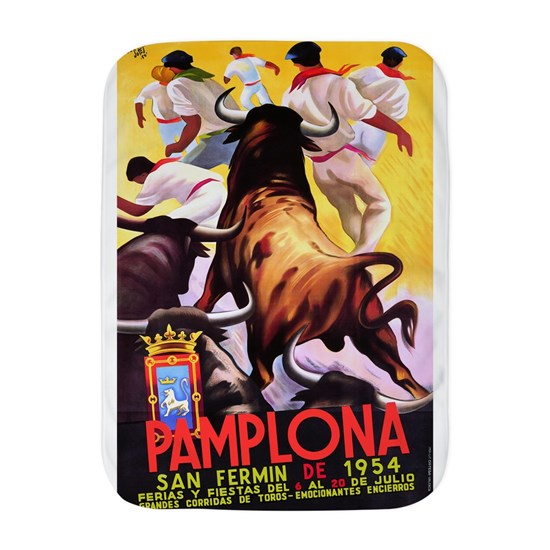 Vintage Pamplona Spain Travel